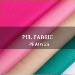 100%Polyester waterproof PUL fabric, 170gsm, 145cm width