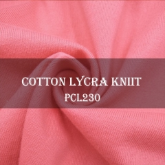 95/5 Cotton Lycra Knit Plain Fabric Stock, 230gsm, 170cm width