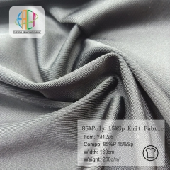 YJ1225 Imination nylon polyester knit fabric 220gsm,MOQ=25KG