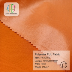 PFA075S Waterproof Diaper PUL Fabric MOQ=110m